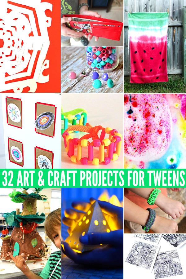 32 Super Cool Art Craft Projects For Tweens