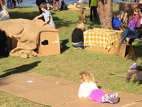 Stories to Inspire Nature Play: Fort Building