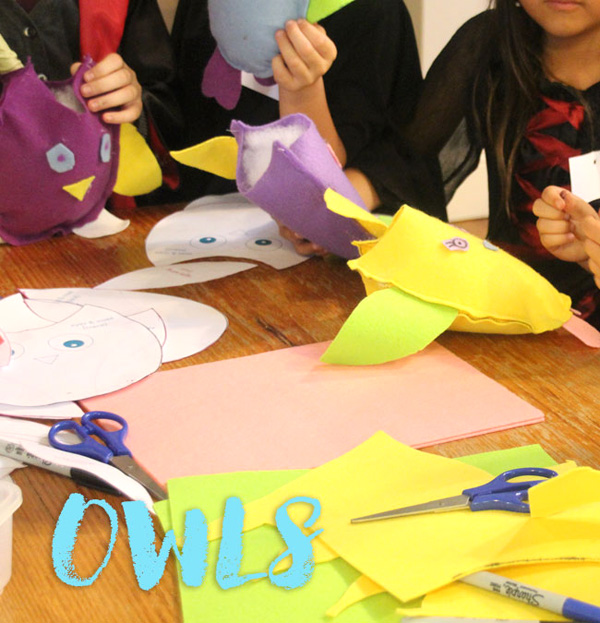 Harry Potter Party Ideas Owl Making