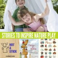 Stories to inspire nature play: Fort Building Books