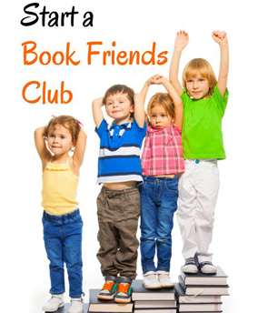 Host a book-friends-club
