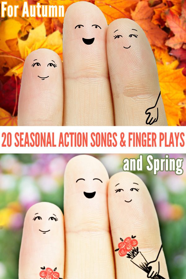 20 Seasonal Action Songs for Fall and Spring