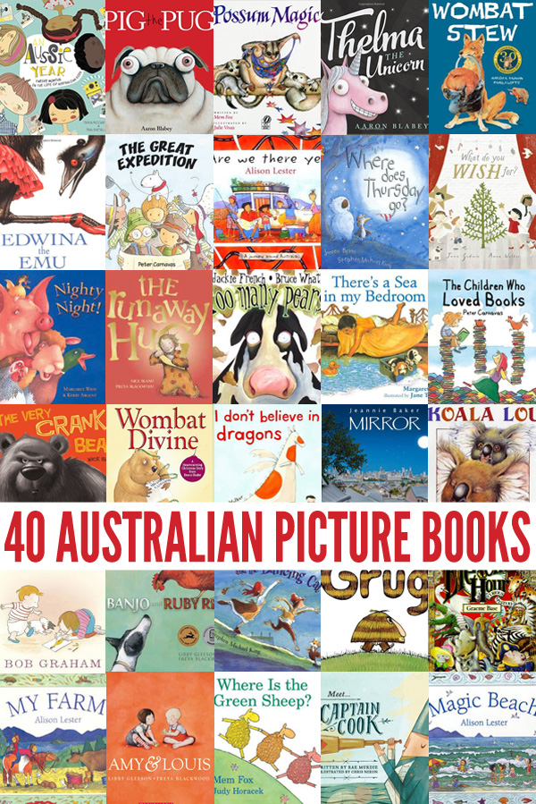 40 Of The Best Australian Picture Books By Our Favourite Australian