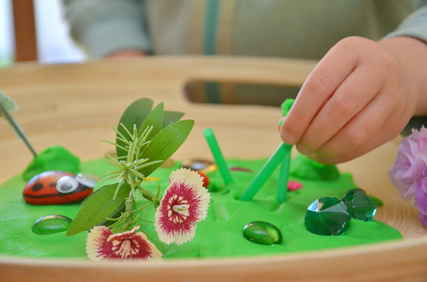 Insect Small World: A Preschool Invitation to Play
