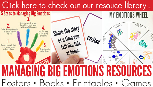 Managing Big Emotions Resource footer