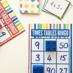 Multiplication Games for Kids: Printable Times Tables Bingo