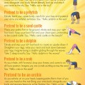 Yoga for Kids: Printable Sun Salutation Sequence