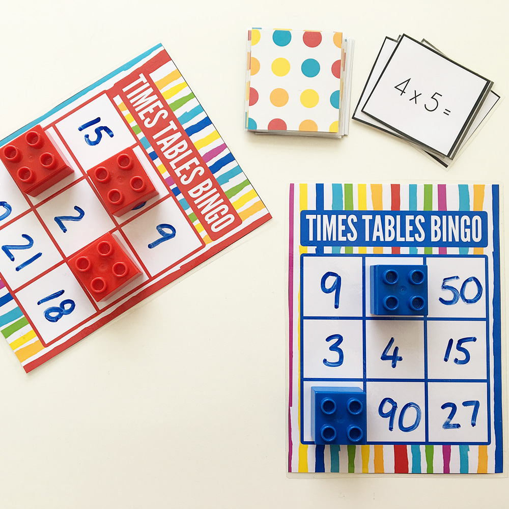 Maths games for kids times tables bingo free printable - Multiplication table games online free ...