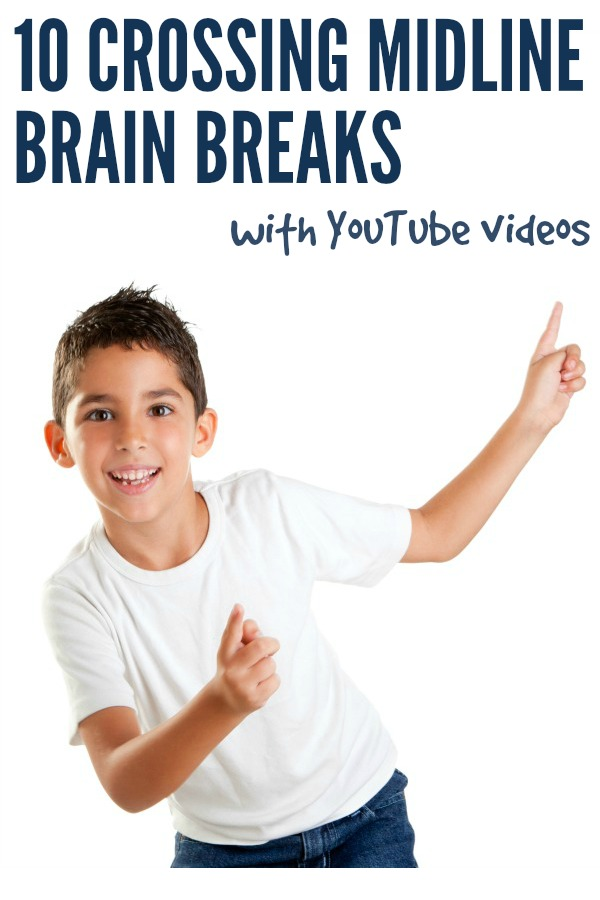 Brain Breaks! 10 Crossing the Midline Activities for Kids