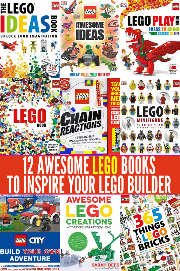12 Awesome Lego Books to Inspire Your Lego Mad Builder