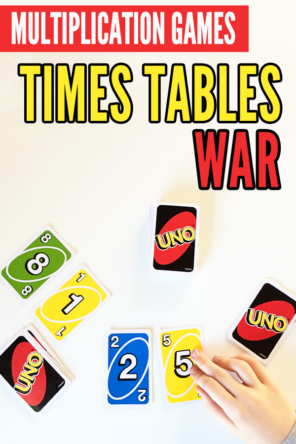 Multiplication War A Super Fun Way To Revise Times Tables
