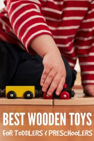 Best Wooden Toys for Toddlers & Preschoolers