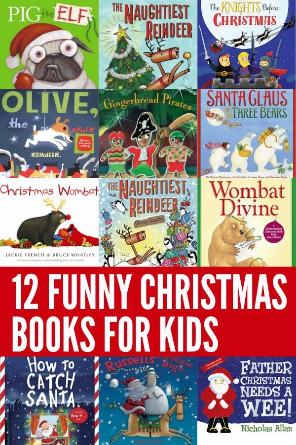 12 Funny Christmas Books for Kids