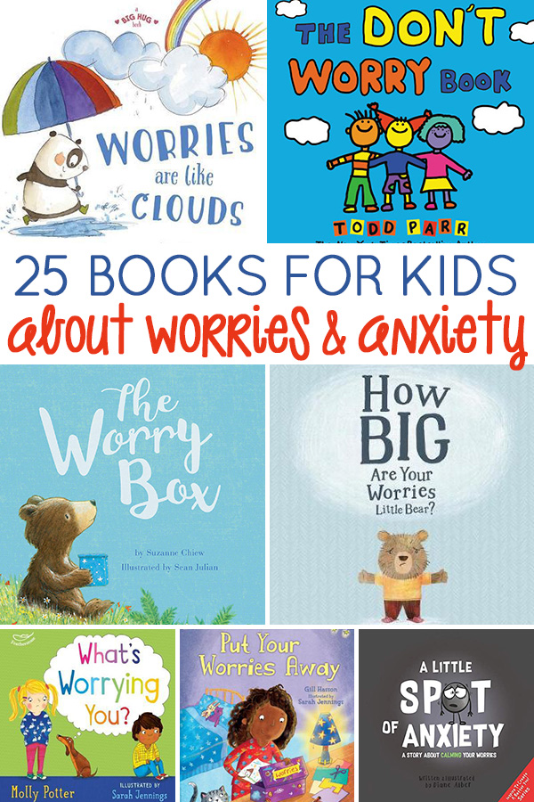 25 Worry Books for Kids