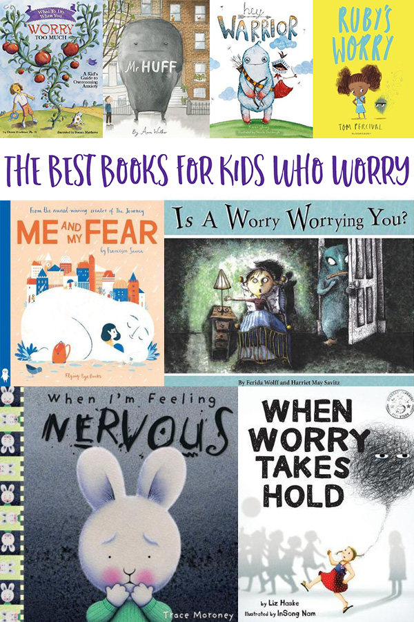 Best books for kids who worry