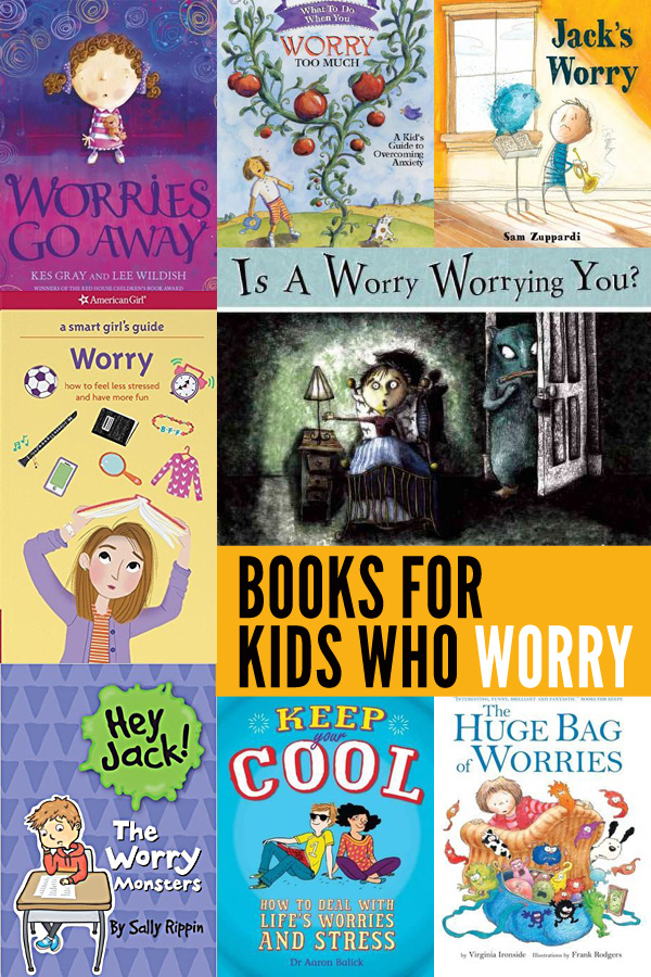 Books for Kids (Of All Ages) Who Worry