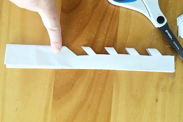 Giant Paper Bag Snowflakes tutorial