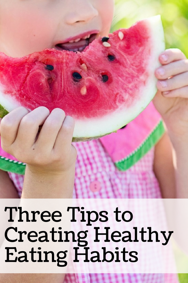 3 Ways to Encourage Healthy Eating Habits (without using technology!)