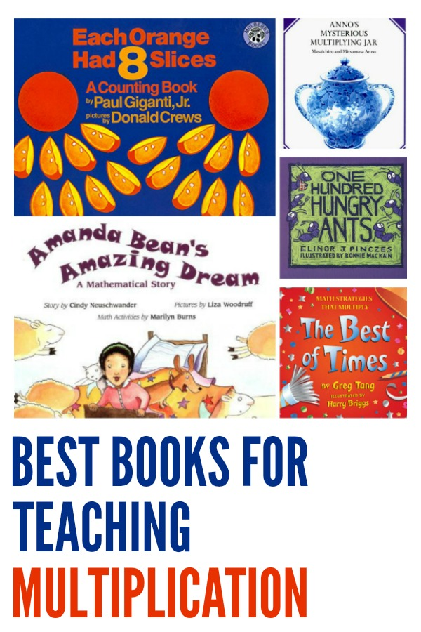 Best Books for Teaching Multiplication