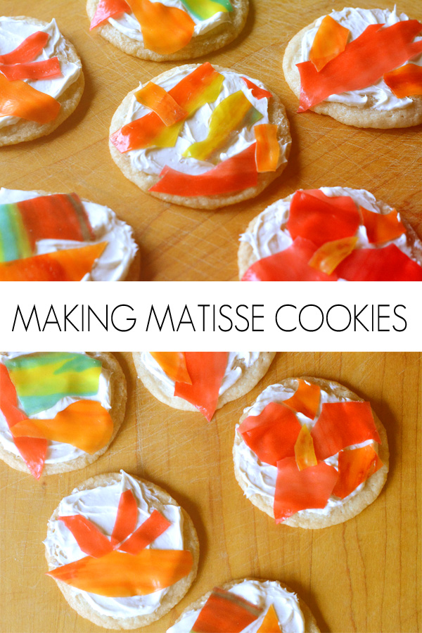 Fun Art Ideas for Kids: Matisse Inspired Cookies