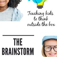 The Brainstorm Game: Teaching kids to think outside the box. A great game for encouraging creatiev and divergent thinking.