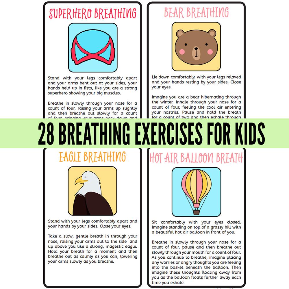 28 Breathing Exercises for Children