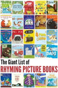 The Giant List of Rhyming Picture Books for Kids