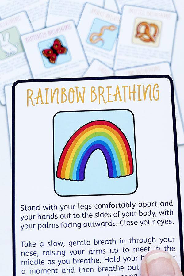 Printable Breathing Exercises for Kids