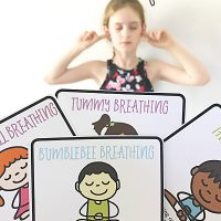 8 Fun Breathing Exercises for Home & School {Printable}