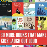 30 MORE Funny Books for Kids