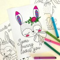 4 Free Inspirational Quote Colouring Pages for Tweens and Teens