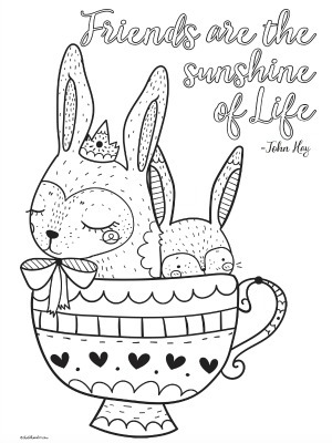 4 Cute Printable Inspirational Quotes Coloring Pages For Tweens Teens