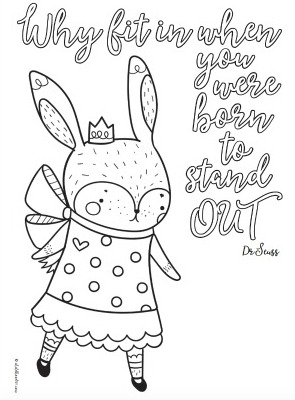 4 Free Inspirational Quote Colouring Pages for Tweens and Teens ...