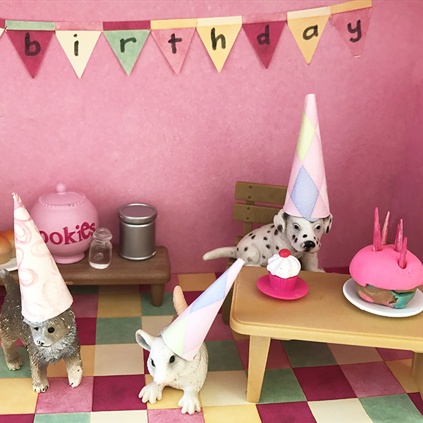 I Love Birthdays Story Box for imaginative play with 10 great birthday themed picture books