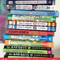 Funny Chapter Book Series for Kids (Ages 7-11 Years)
