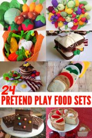 24 Fabulous Pretend Play Food Sets