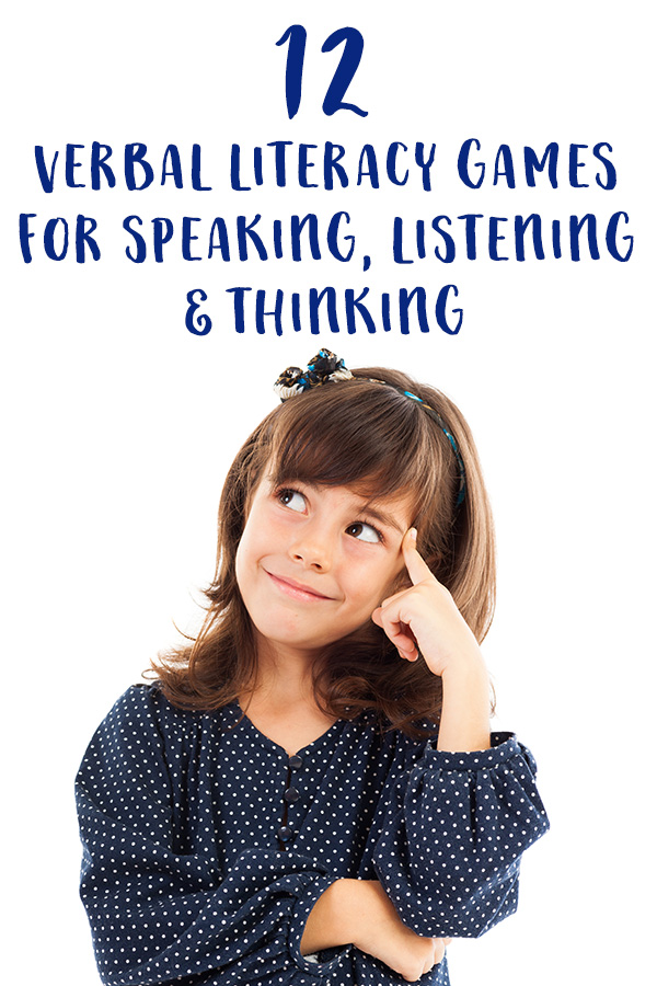 Games for Speaking, Listening and Thinking. Verbal games for kids. Great for travel and waiting.