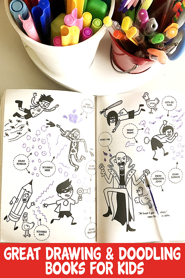 Great drawing and doodling books for kids