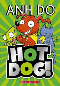 Hot Dog book series for early readers