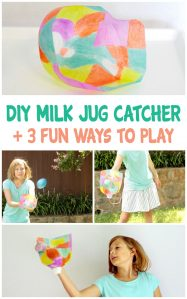 DIY Milk Jug Catcher Game With 3 Fun Ways to Play