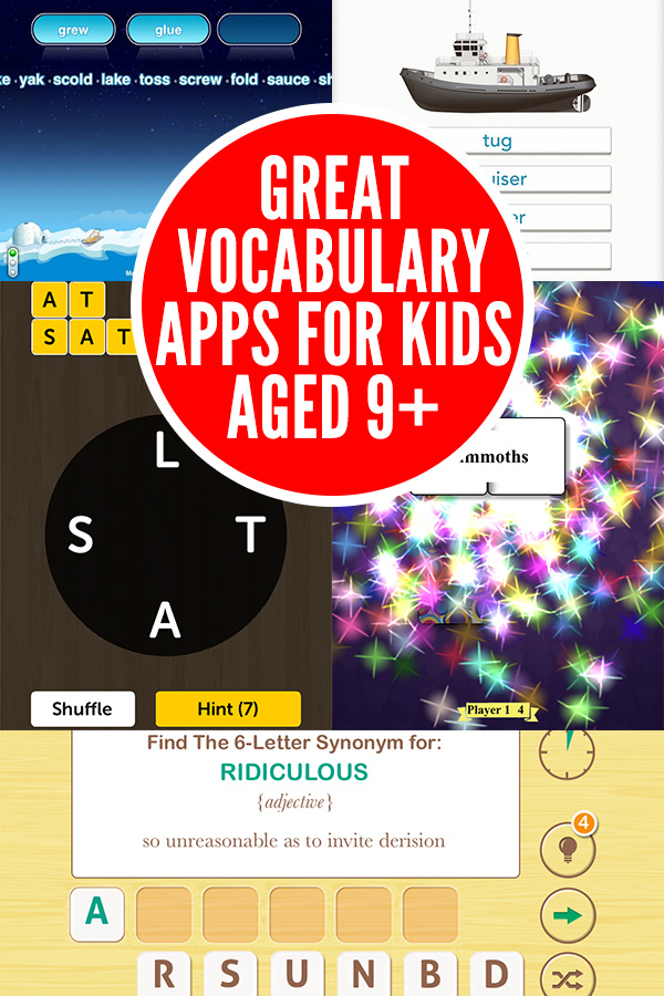 Great Vocabulary Games for Kids Aged9+
