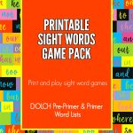 Fun Printable Sight Word Games That Will Make Kids Want to Do Homework