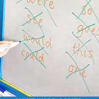 Sight Word Activities for Beginning Readers: Racer Game