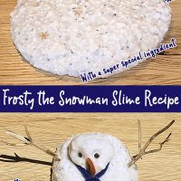 Frosty the Snowman Slime Recipe