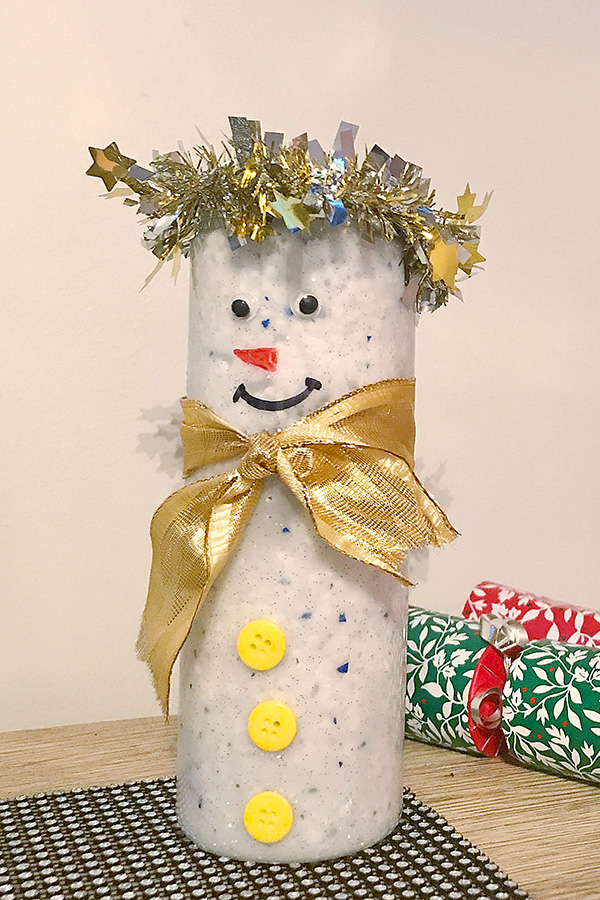 Frosty the Snowman slime gift