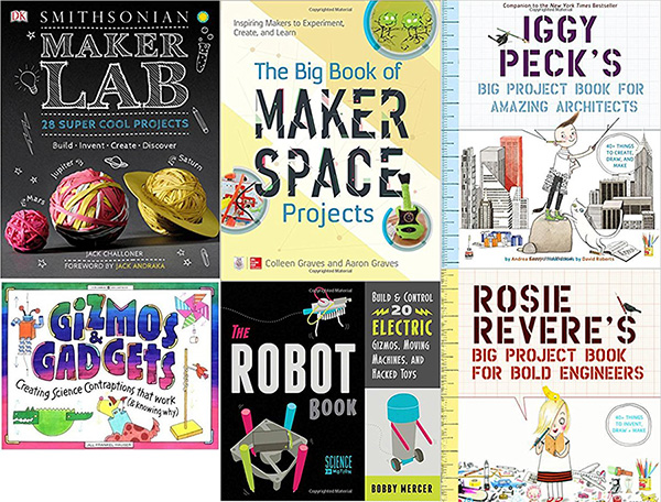 Engineering books for kids - STEM