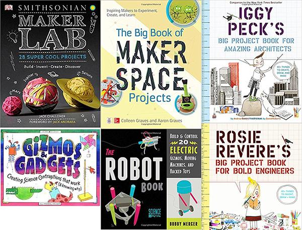 Engineering books for kids - STEM