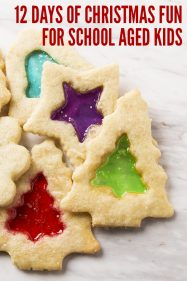 12 Days of Fun Christmas Activities for School Aged Kids
