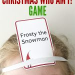 Printable Christmas Games: Christmas Who Am I?