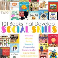 Books about friendship,communication and social skills